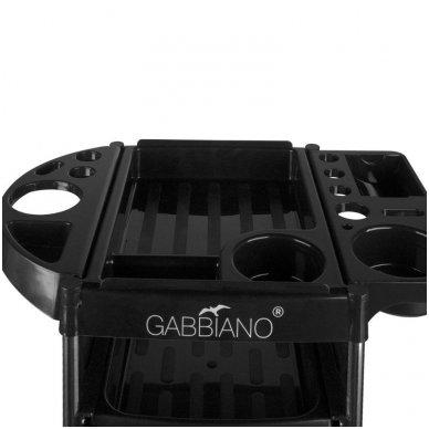 Kirpyklos vežimėlis GABBIANO FX11-2 BLACK 5