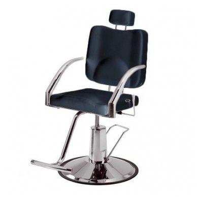 Kirpyklos/vizažo kėdė Weelko Platy, baltos sp. 2