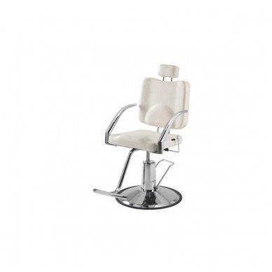 Kirpyklos/vizažo kėdė Weelko Platy, juodos sp. 2