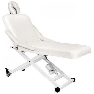 Elektrinis masažo stalas AZZURRO 336A, baltos sp.