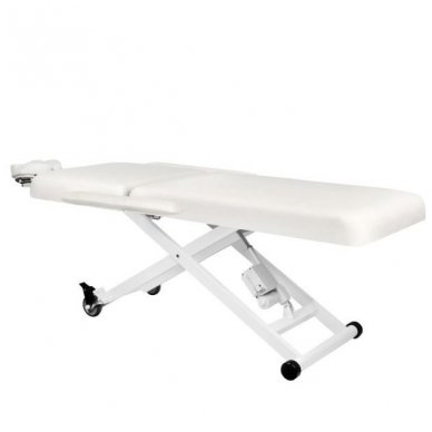 Elektrinis masažo stalas AZZURRO 336A, baltos sp. 4