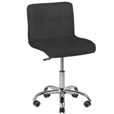 Kliento kėdutė, juoda