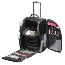 Kosmetikos - vizažo krepšys KC-N42L, juodos sp.