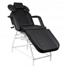 Kosmetologinis krėslas, juodos sp.
