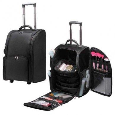 Kosmetikos - vizažo krepšys KC-N42L, juodos sp. 2