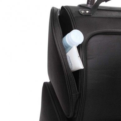 Kosmetikos - vizažo krepšys KC-N42L, juodos sp. 7