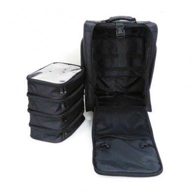 Kosmetikos - vizažo krepšys KC-N46S, juodos sp. 3