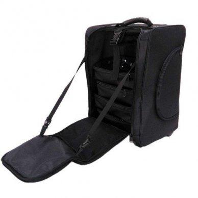 Kosmetikos - vizažo krepšys KC-N46S, juodos sp. 4