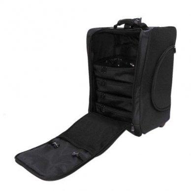 Kosmetikos - vizažo krepšys KC-N46S, juodos sp. 7