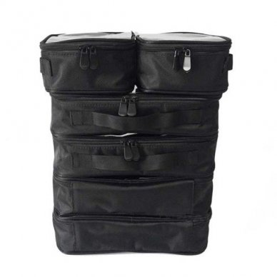 Kosmetikos - vizažo krepšys KC-N46S, juodos sp. 9
