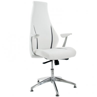 Kosmetinis krėslas RICO 106, baltos spalvos.