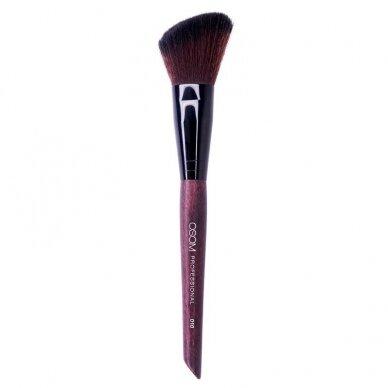 Kosmetinis teptukas OSOM Professional Angled blush brush, kirstas skaistalams
