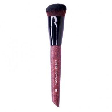 Kosmetinis teptukas OSOM Professional Angled Contour brush, veido kontūravimui, skystam pagrindui