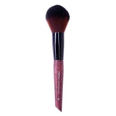 Kosmetinis teptukas OSOM Professional Precision powder brush, tinka biriai, mineralinei pudrai, koregavimui