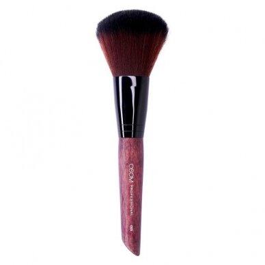 Kosmetinis teptukas OSOM Professional Precision powder brush, tinka biriai, mineralinei pudrai