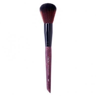 Kosmetinis teptukas OSOM Professional Small powder, blushes, bronzing brush, mažas, skaistalams, biriems produktams