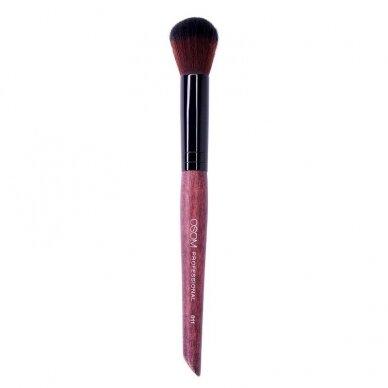 Kosmetinis teptukas OSOM Professional Small Round Contour brush, mažas, skaistalams