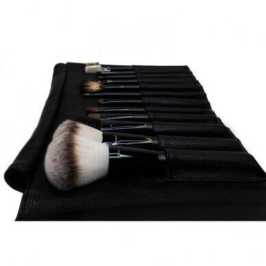 Kosmetinių teptukų rinkinys vizažistams OSOM Professional 2