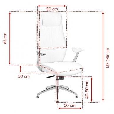 Universali meistro kėdė RICO, baltos sp. 3
