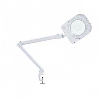 Kosmetologinė LED lempa su lupa 6015, didina iki 5 kartų, 60 diodų