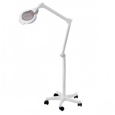 Kosmetologinė LED lempa su lupa H6001 ant ratukų