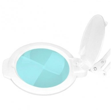 """Kosmetologinė LED lempa su lupa MOONLIGHT 8012/5"""", baltos sp. 2"""