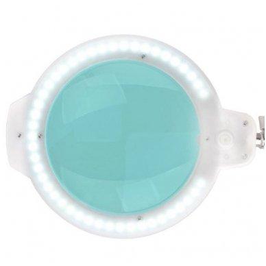 """Kosmetologinė LED lempa su lupa MOONLIGHT 8012/5"""", baltos sp. 3"""