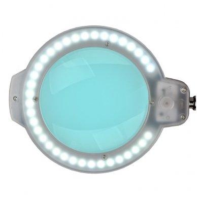 Kosmetologinė LED lempa su lupa MOONLIGHT, tvirtinama prie stalo 113965 3
