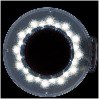Kosmetologinė lempa LED su lupa ir štatyvu 115247 4