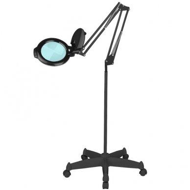 Kosmetologinė lempa LED su lupa MOONLIGHT, su ratukais 115253