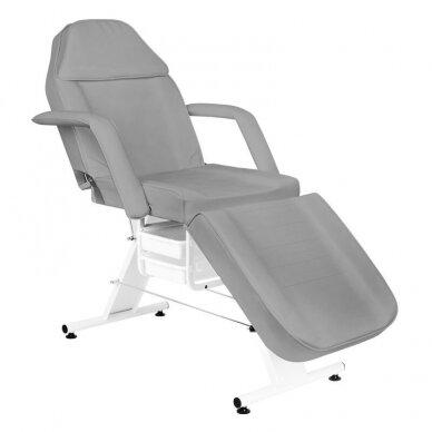 Kosmetologinė lova A 202 su stalčiais, pilkos sp.