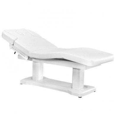 Kosmetologinė lova AZZURRO 818A, baltos spalvos
