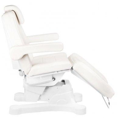 Kosmetologinis elektrinis krėslas-lova A-207 WHITE 7