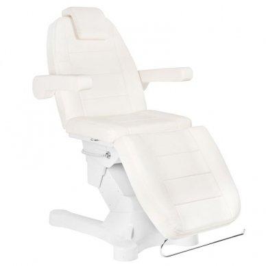 Kosmetologinis elektrinis krėslas-lova A-207 WHITE 12