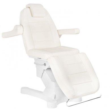 Kosmetologinis elektrinis krėslas-lova A-207 WHITE 2