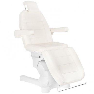 Kosmetologinis elektrinis krėslas-lova A-207 WHITE