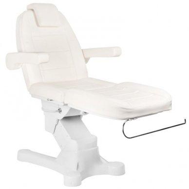 Kosmetologinis elektrinis krėslas-lova A-207 WHITE 3