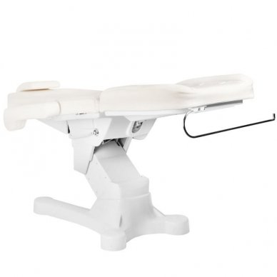 Kosmetologinis elektrinis krėslas-lova A-207 WHITE 5