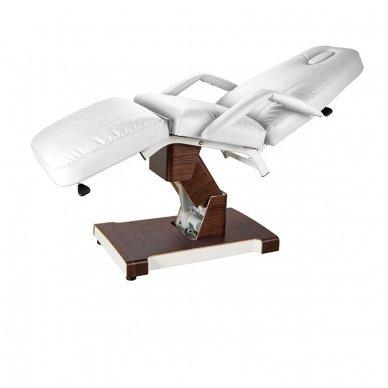 Kosmetologinis elektrinis krėslas - lova Weelko Hallic, baltos sp. 3