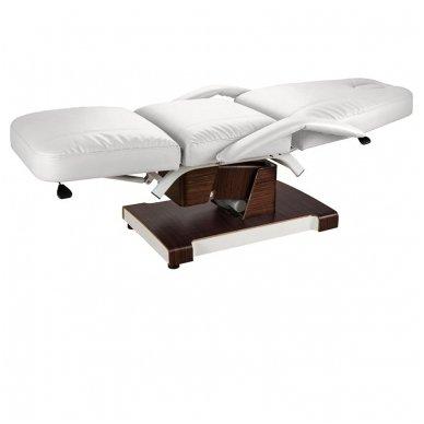 Kosmetologinis elektrinis krėslas - lova Weelko Hallic, baltos sp. 2
