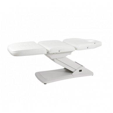 Kosmetologinis elektrinis krėslas - lova Weelko Ster, baltos sp. 2
