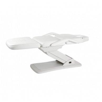 Kosmetologinis elektrinis krėslas - lova Weelko Ster, baltos sp. 3