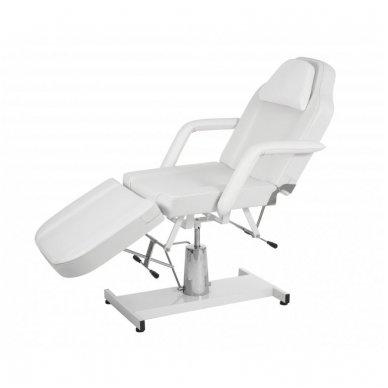 Kosmetologinis hidraulinis krėslas - lova Weelko Ment, baltos sp.