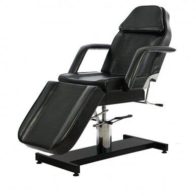Kosmetologinis hidraulinis krėslas - lova Weelko Ment, juodos sp.