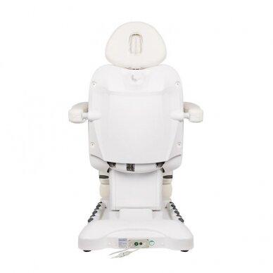 Kosmetologinis krėslas AZZURRO 708B EXCLUSIVE 3 varikliai, baltos sp. 3