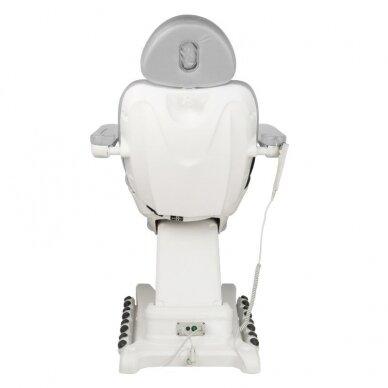 Kosmetologinis krėslas AZZURRO 872 EXCLUSIVE, 4 varikliai, pilkos sp. 7
