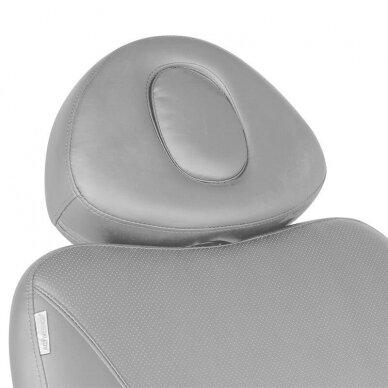 Kosmetologinis krėslas AZZURRO 872 EXCLUSIVE, 4 varikliai, pilkos sp. 9