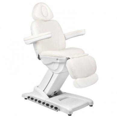 Kosmetologinis krėslas AZZURRO 872 EXCLUSIVE su 4 varikliais ,šildymo funkcija,  LED pašvietimu ( iš ekspozicijos)