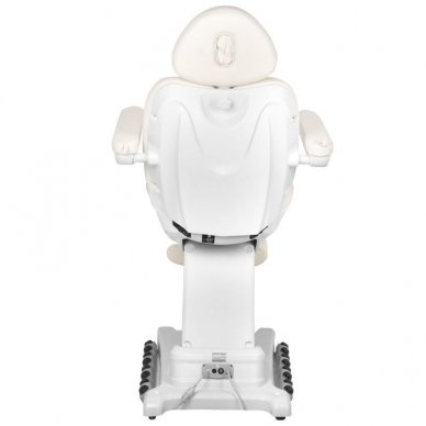Kosmetologinis krėslas AZZURRO 872 EXCLUSIVE su 4 varikliais ,šildymo funkcija,  LED pašvietimu ( iš ekspozicijos) 9