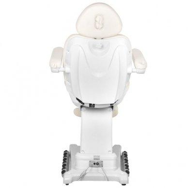 Kosmetologinis krėslas AZZURRO 872 EXCLUSIVE su 4 varikliais ,šildymo funkcija,  LED pašvietimu 9